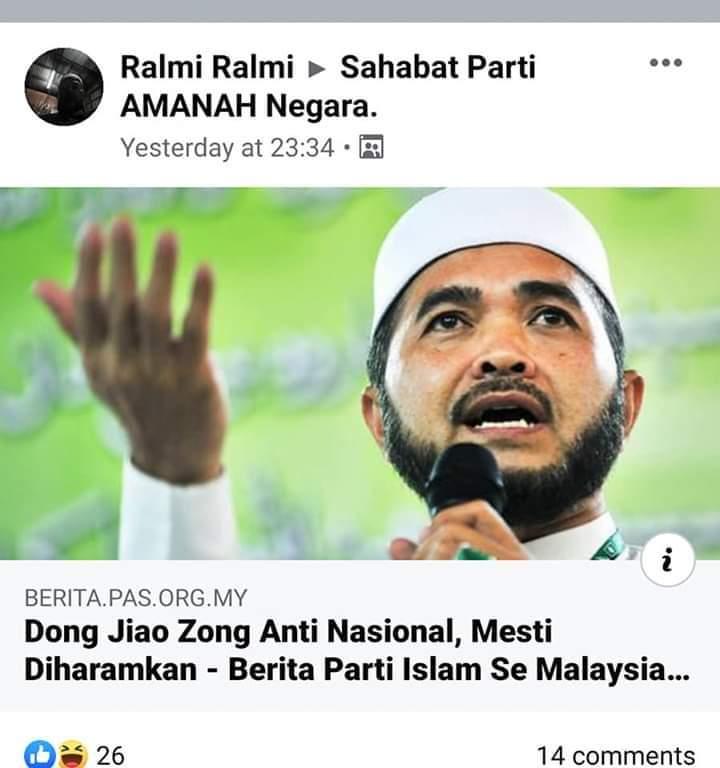 1 Dong Zong Haram.