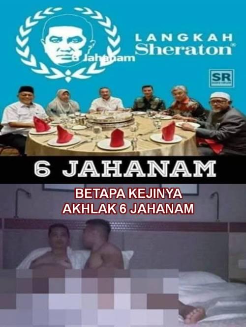 1 KEJI 6 JAHANAM